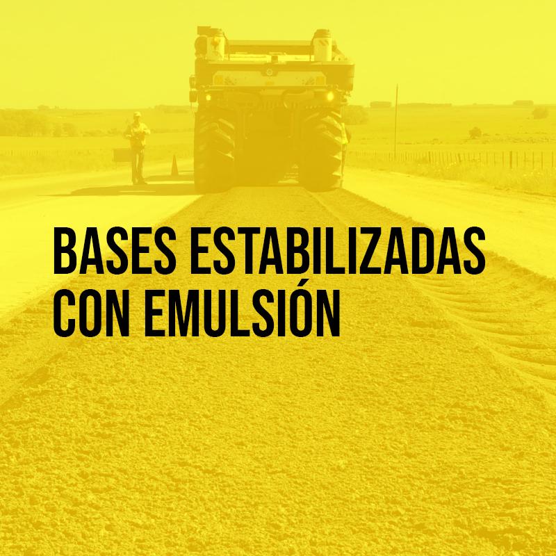 Bases estabilizadas con emulsión | Asfaltoperú