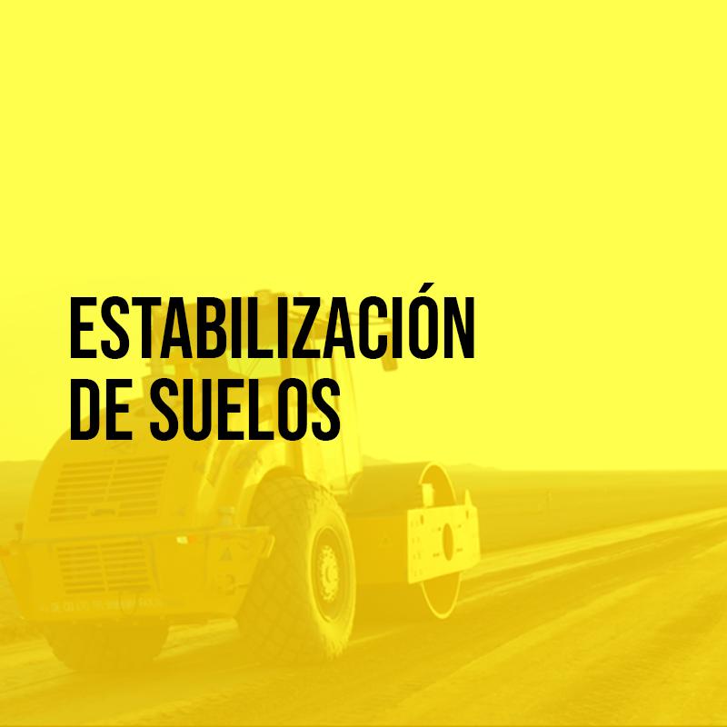 Estabilización de suelos | Asfaltoperú